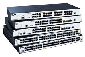 Switch xStack Gigabit L2 D-Link DGS-3120