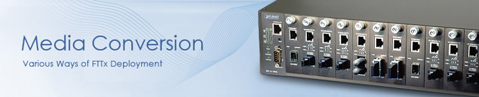 Media Converter Ethernet - Fibra Ottica